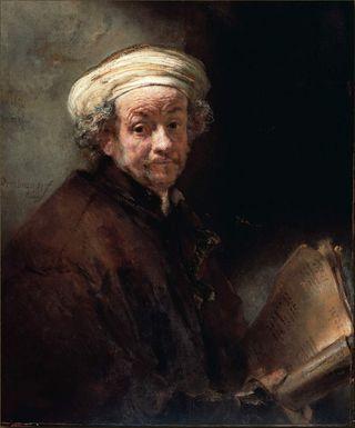 Rembrandt_Autoportrait-Rijksmuseum