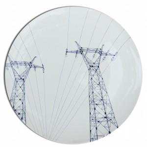 Assiettes pylones
