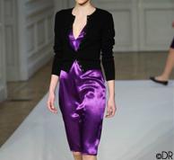 Femme-Robe-Fluide-Col-V-Longueur-Genoux-AGNESB