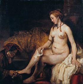 Rembrandt Bethsabée